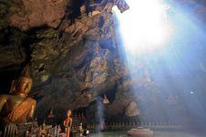 Phaya Grotto In Petchburi, Thailand Stock Image
