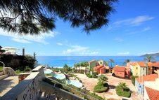 Free Beautiful Resort At Mediterranean Sea Stock Images - 24509004