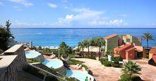 Free Beautiful Resort At Mediterranean Sea Royalty Free Stock Photography - 24509017