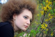 Free Portrait Of A Girl In Nature Royalty Free Stock Photography - 24509107