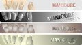 Free Manicure Banners Set Stock Photos - 24518143