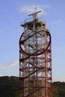 Radar Tower Royalty Free Stock Photo