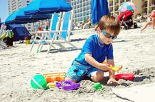 Free Playing In The Sand Stock Photos - 24518063