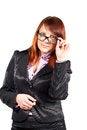 Free Girl In Glasses Stock Image - 24526931