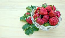 Free Strawberries Royalty Free Stock Images - 24524489