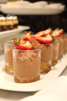 Free Chocolate Mousse Stock Photography - 24526392