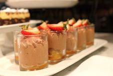 Free Chocolate Mousse Stock Photo - 24526400