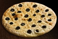 Free Focaccia With Olives Royalty Free Stock Image - 24527096