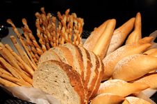 The Assorted Bread Stock Image