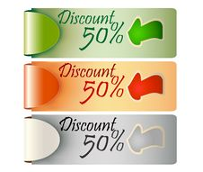 Free Discount Tag Label Price Stock Image - 24527931
