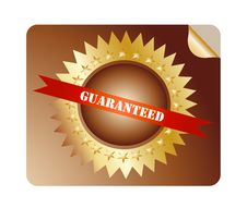 Free Guaranteed Label Stock Photography - 24528002
