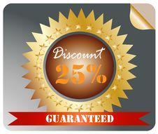 Free Sale Discount Tag Label Stock Photo - 24528060