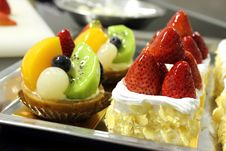 Free Fruit Tart Royalty Free Stock Photos - 24528108