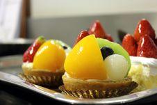 Fruit Tart Stock Images