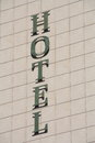 Free Hotel Sign Royalty Free Stock Photo - 24532945