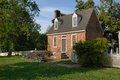Free Williamsburg Colonial House Royalty Free Stock Photo - 24535495