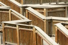 Free Wooden Stair Royalty Free Stock Photo - 24530235