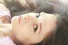 Free Closeup Portrait Of Beautiful Girl Stock Image - 24532451