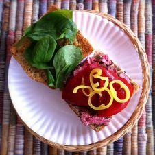 Free Ciabatta Steak Sandwich Stock Images - 24533204