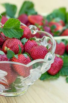 Free Fresh Strawberries Royalty Free Stock Photos - 24533368