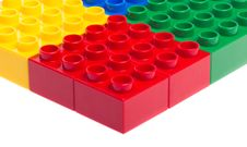 Free Plastic Blocks Royalty Free Stock Photo - 24534145