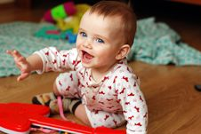 Free Funny Baby Royalty Free Stock Photography - 24538387
