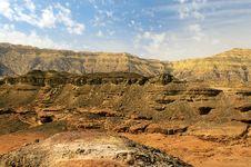 Free Mountainous Desert Stock Images - 24538834