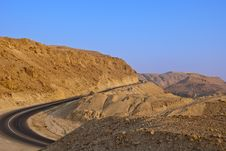 Free Road In Desert Royalty Free Stock Photography - 24539417