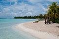 Free View On The Beach Within An Lagoon In Bora Bora Royalty Free Stock Photos - 24541418
