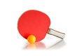 Free Racket And Ball Royalty Free Stock Photos - 24543788