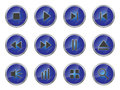Free Button Set 1 Royalty Free Stock Photography - 24546027