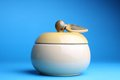 Free Cup Sugar-bowl In The Form Of An Apple Royalty Free Stock Images - 24549699