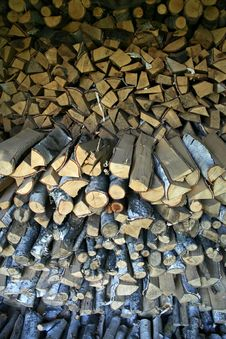 Free Wood For The Winter Stock Photography - 24541582