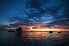Free Sunset Stock Photo - 24543910