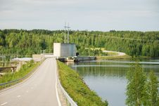 Free Finnish Hydroelectric Power Station Royalty Free Stock Photo - 24544295