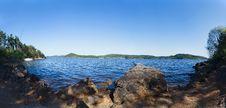 Free Orlik Reservoir Royalty Free Stock Image - 24546066