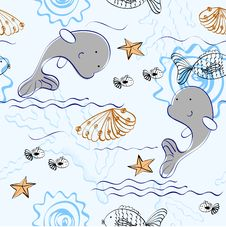 Free Seamless Pattern Royalty Free Stock Image - 24546726