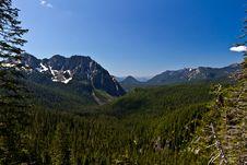 Free Mountain Range Near Mount Rainier Stock Image - 24547891