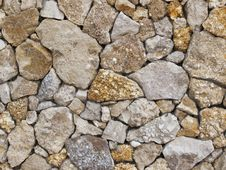 Free Wall From A Shell Rock Royalty Free Stock Photography - 24548237