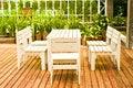 Free White Table Set Stock Photos - 24551133