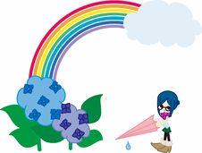 Free Rain Day Royalty Free Stock Image - 24550196