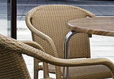 Free Chairs With Table Stock Photos - 24552253