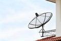 Free Black Satellite Dish Stock Photography - 24567562