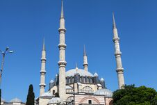 View Of Selimiye Mosque, Edirne. Stock Photo