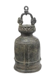 Free Old Tibetan Prayer Bell Isolated Royalty Free Stock Image - 24565166