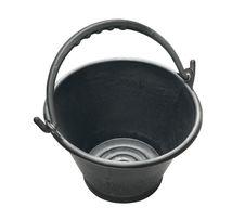 Free Black Plastic Bucket Stock Photos - 24567533