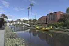 Free Venice Canals In California Stock Photography - 24568352