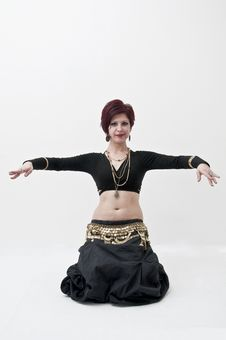 Tribal Belly Dancer Stock Photos