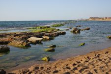 Free Beautiful Sea Paysage On Sunrise Stock Image - 24572271