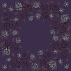 Night Flowers Background 2 Royalty Free Stock Images